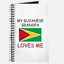 My Guyanese Grandpa Loves Me Journal