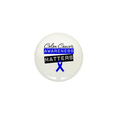 Colon Cancer Matters Mini Button (10 pack)