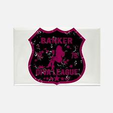 Banker Diva League Rectangle Magnet