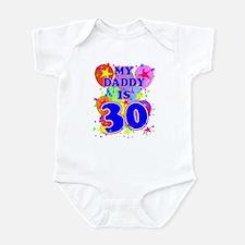 DADDY BIRTHDAY Onesie