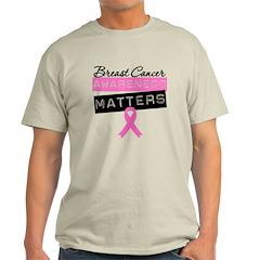 BreastCancerMattersPink T-Shirt