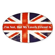 oddFrogg British Friends Bumper Decal