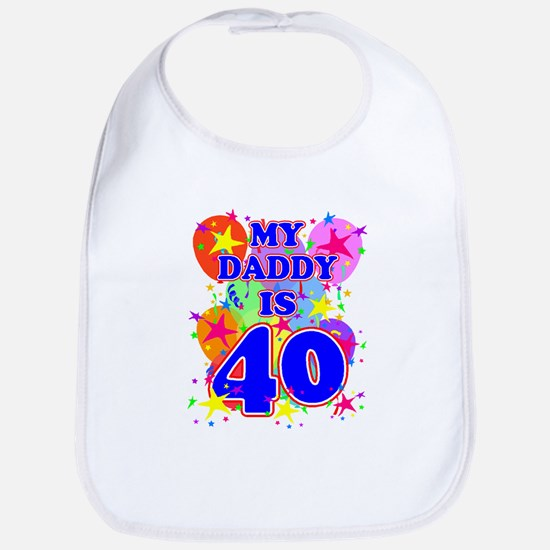 DADDY BIRTHDAY Bib