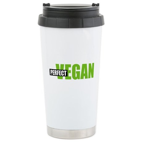 Perfect Vegan Stainless Steel Travel Mug