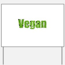Vegan Glass Yard Sign
