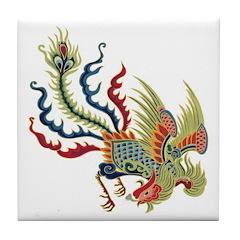 Chinese Phoenix Tile