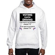 Voting/Driving Hoodie