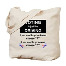 Voting/Driving Tote Bag