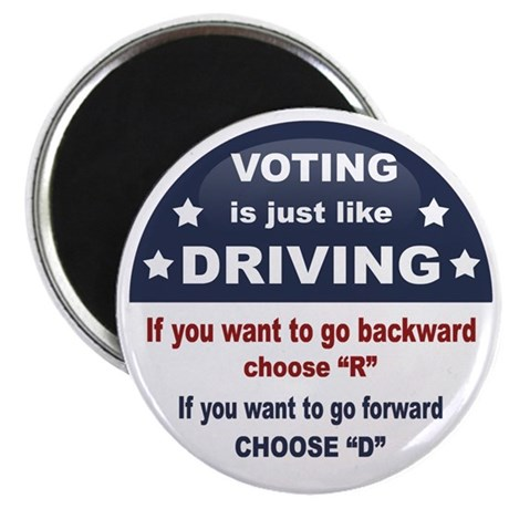Voting/Driving Magnet