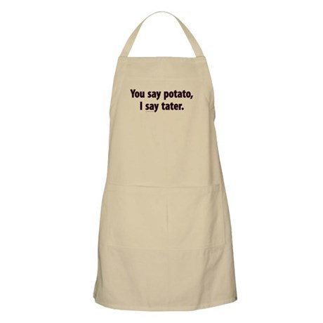You say potato, I say tater BBQ Apron