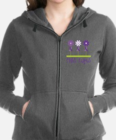 Lupus Awareness Daisy Sweatshirt