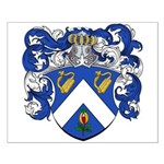 Voute Coat of Arms Small Poster