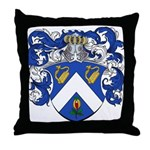 Voute Coat of Arms Throw Pillow