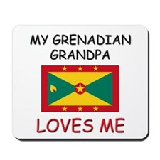 My Grenadian Grandpa Loves Me Mousepad