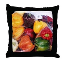 Peppers - Throw Pillow