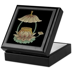 Chinese Blossoms Keepsake Box