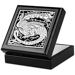 Asian Luck Dragon Keepsake Box