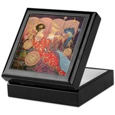 Asian Beauty Keepsake Box
