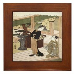 Eirakuan Teahouse Framed Tile