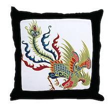 Chinese Phoenix Throw Pillow