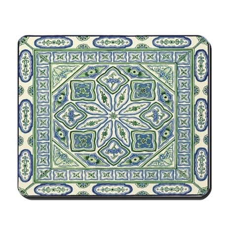 China (Blue) Mousepad