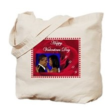 Cute Obama inaugural ball Tote Bag