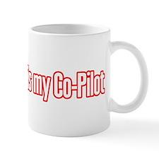 GPS is my Co-Pilot Mug