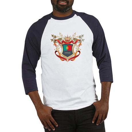 Portuguese flag emblem Baseball Jersey