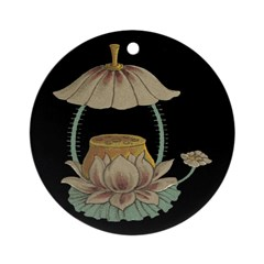 Chinese Blossoms Ornament (Round)