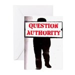 QUESTION AUTHORITY Greeting Cards (Pk of 10)