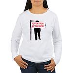QUESTION AUTHORITY Women's Long Sleeve T-Shirt
