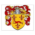 Zegers Coat of Arms Small Poster