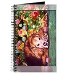 Golden Retriever Christmas Journal
