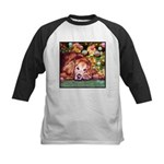 Golden Retriever Christmas Kids Baseball Jersey