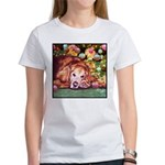 Golden Retriever Christmas Women's T-Shirt