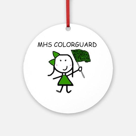 Guard - MHS Ornament (Round)