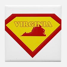 Super Star Virginia Tile Coaster