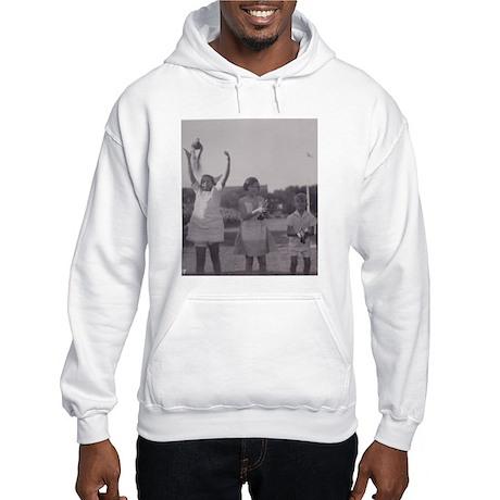 Carrier Pigeon with Children Hooded Sweatshirt