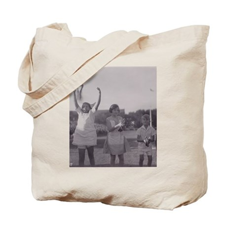 Carrier Pigeon with Children Tote Bag