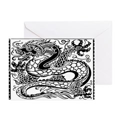 Korean Dragon Greeting Cards (Pk of 10)