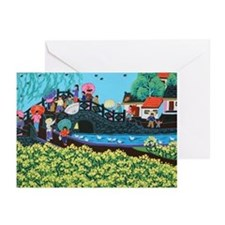 Chinese Folkart Greeting Cards (Pk of 10)