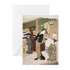 Eirakuan Teahouse Cards (Pk of 10)
