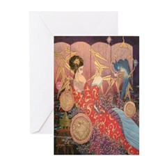 Asian Beauty Greeting Cards (Pk of 10)