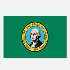 Beloved Washington Flag Moder Postcards (Package o