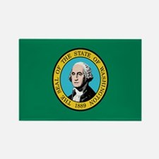 Beloved Washington Flag Moder Rectangle Magnet