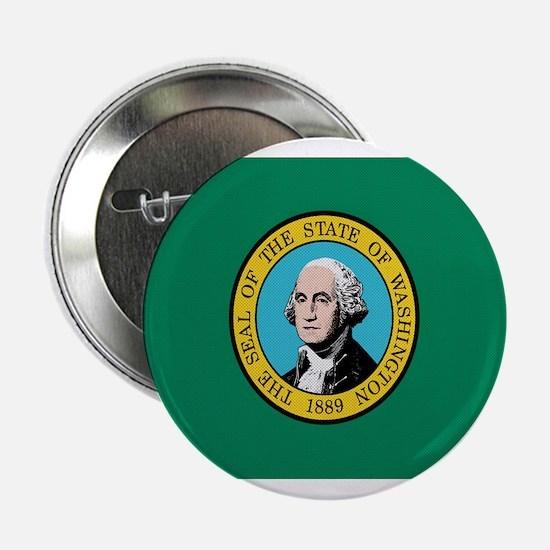 """Beloved Washington Flag Moder 2.25"""" Button"""