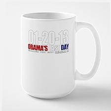 Obama's Last Day! Large Mug