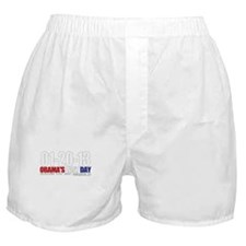 Obama's Last Day! Boxer Shorts