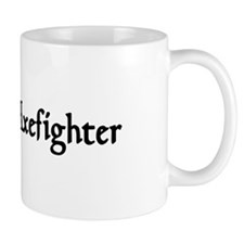 Grey Elf Axefighter Mug