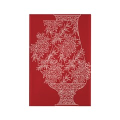 Asian Vase (Red) Magnets (10 pack)